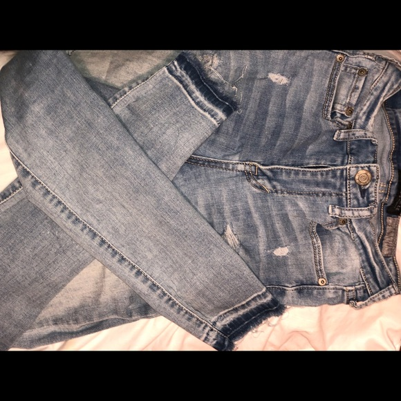 Aeropostale Denim - Ripped wash off jeans
